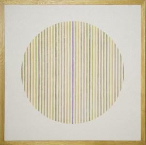 """<span class=""""nome_artista"""">Elio Marchegiani<p class=""""nome_opera""""> Grammature di colore 1974 </p><p class=""""info_opera"""">supporto su intonaco n.18 <br>cm 95x95</p></span>"""