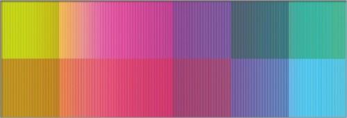 """<span class=""""nome_artista"""">Sandi Renko<p class=""""nome_opera"""">LENTILINTERSEZIONE 1018 </p><p class=""""info_opera"""">giclée su lenticolare2018, 38 x 55,5 cm</p></span>"""