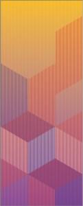 """<span class=""""nome_artista"""">Sandi Renko<p class=""""nome_opera"""">STATICITÀ DINAMICA 1117 </p><p class=""""info_opera"""">aerografo su canneté acrilico<br> 2017, 121 x 49 cm</p></span>"""