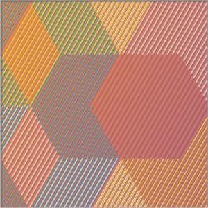 "<span class=""nome_artista"">Sandi Renko<p class=""nome_opera"">TRIKVADRAT A216 </p><p class=""info_opera"">aerografo su canneté acrilico<br>2016, 25 x 75 cm</p></span>"