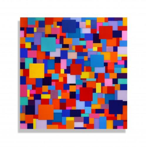 """<span class=""""nome_artista"""">Marco Casentini<p class=""""nome_opera"""">RIO GRANDE</p><p class=""""anno_opera"""">2019</p><p class=""""info_opera"""">acrilico su perspex su alluminio</p>cm 125 x 120</p></span>"""